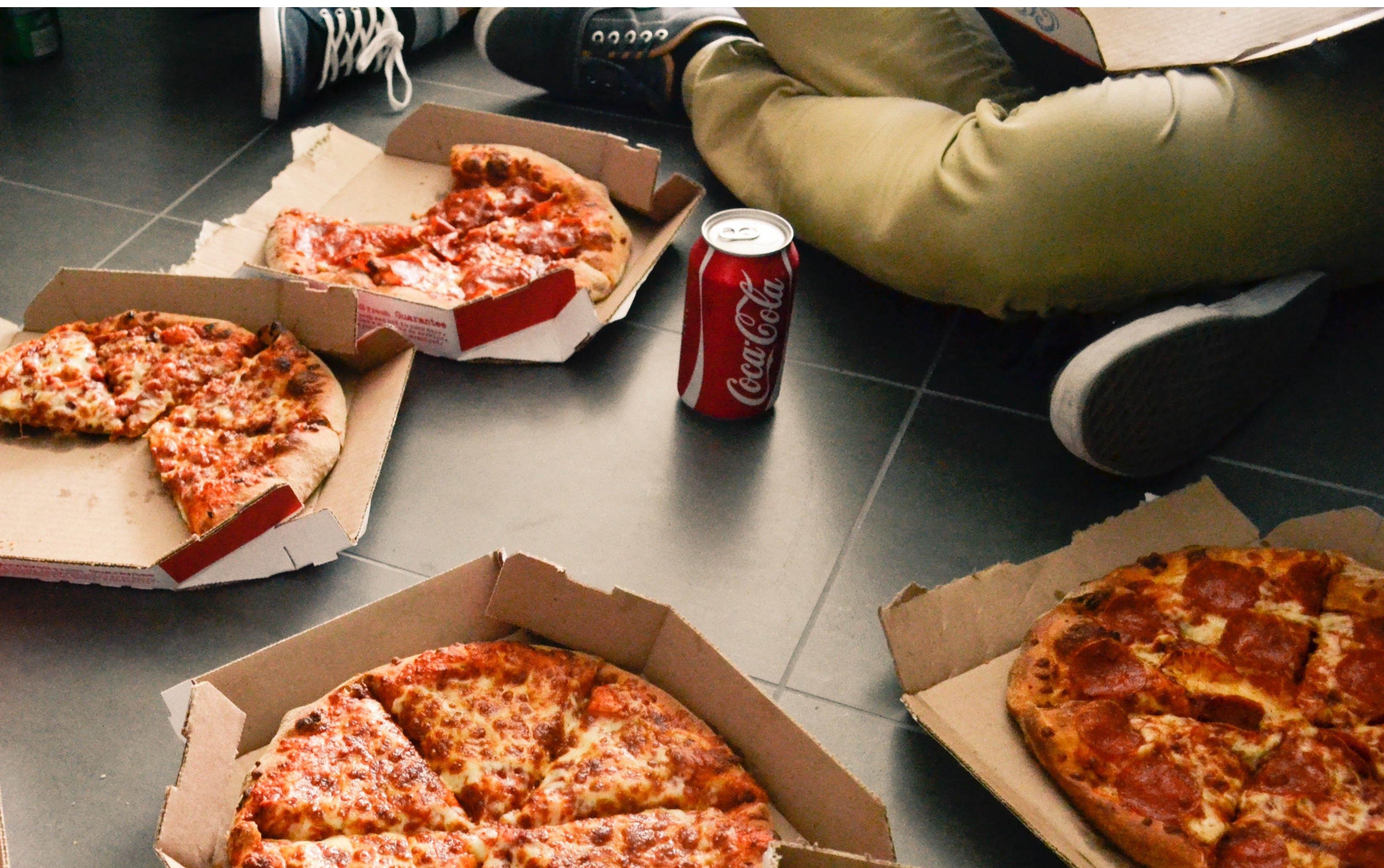 Pizza-coke combo
